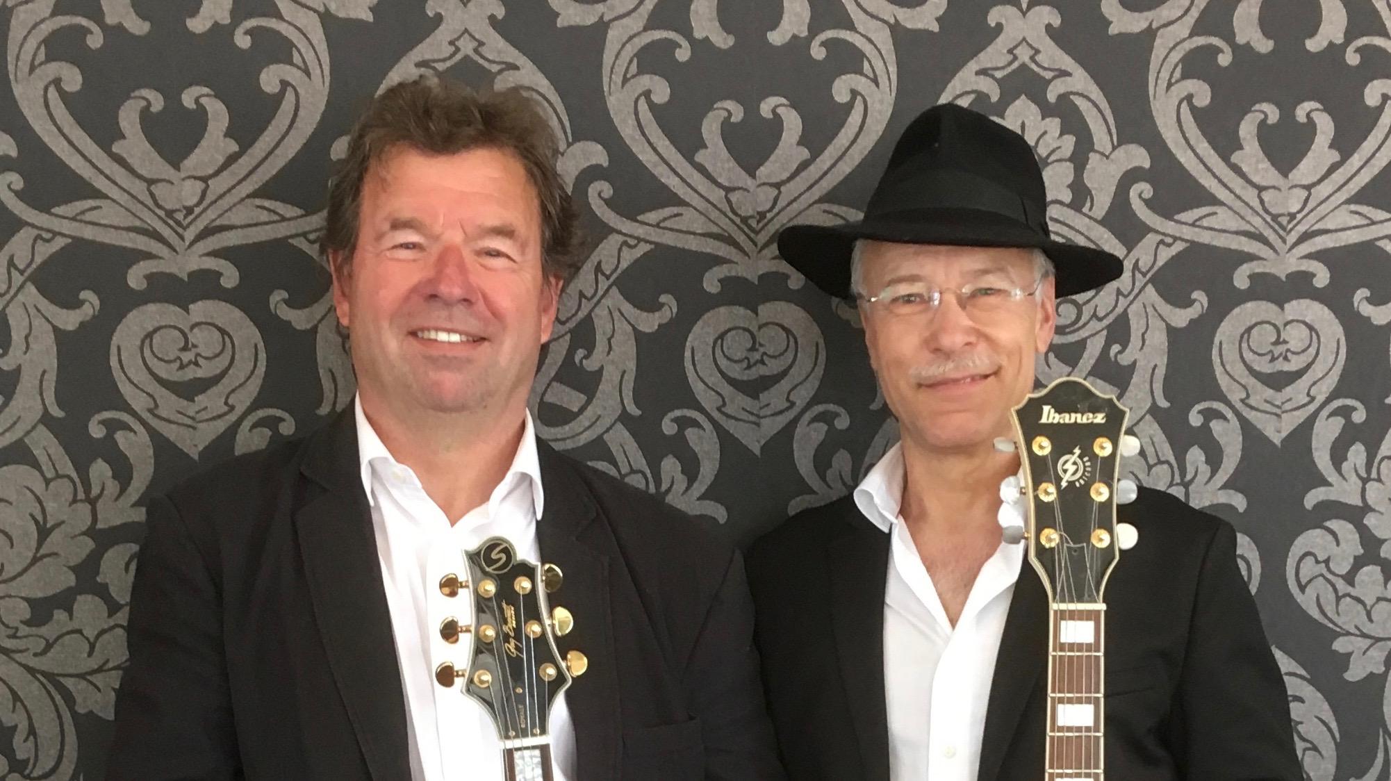 Guitar lounge musik med 2 guitarer jespgilbert.dk
