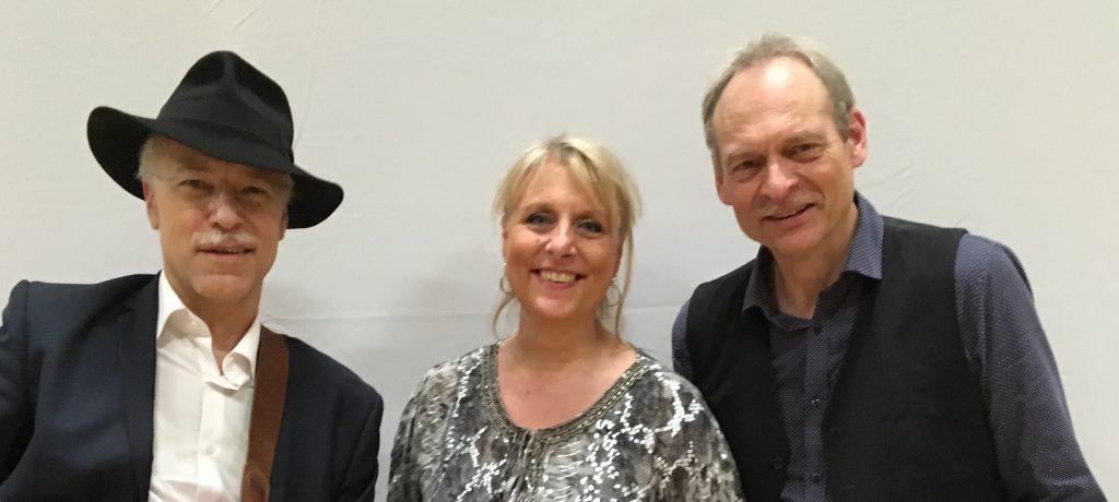 Anne Weiss med Præst og Gilbert