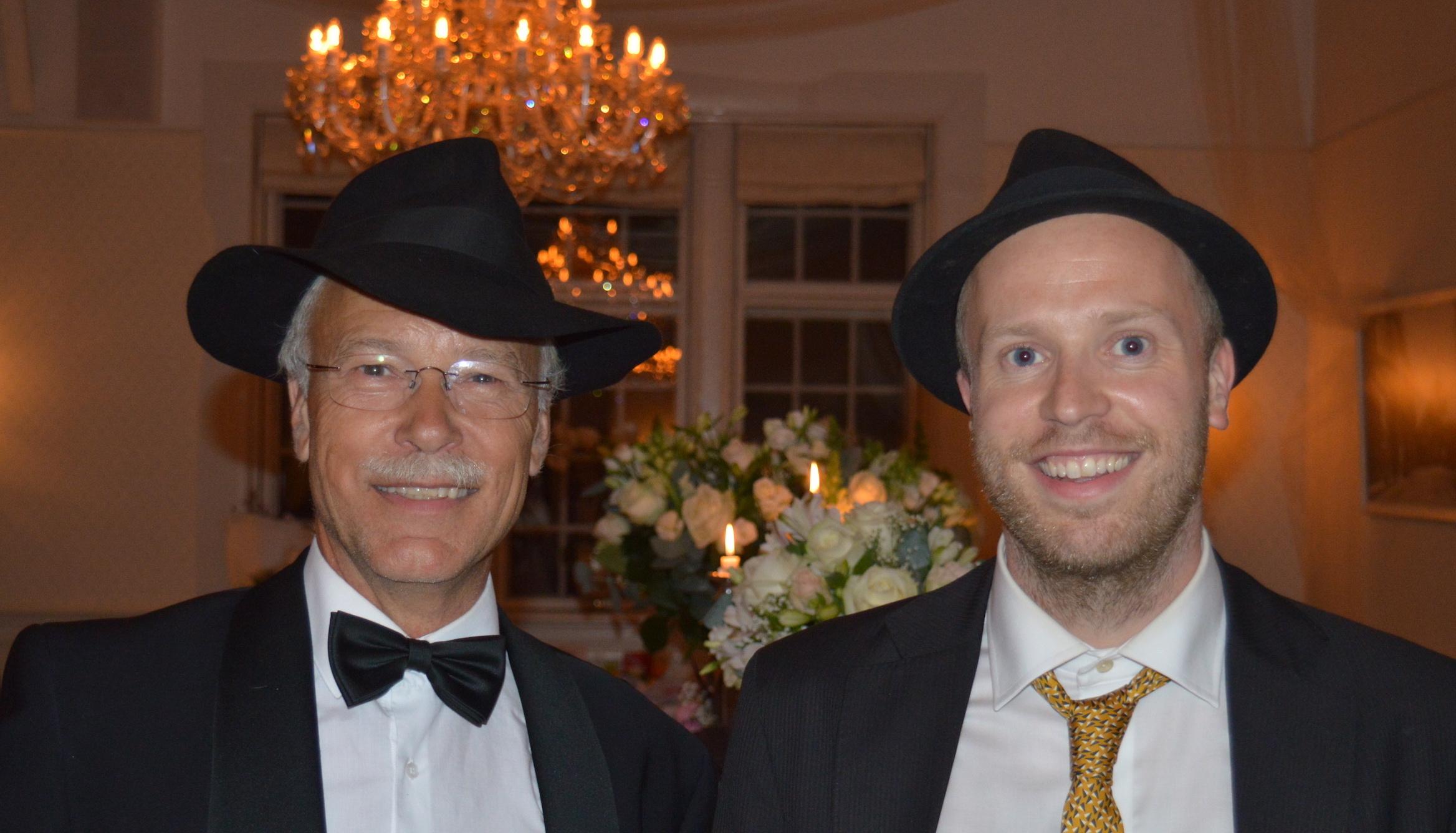 Jesper og Oscar Gilbert